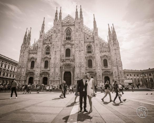 A&G in piazza Duomo (MI)