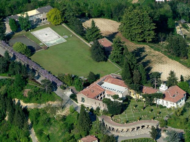 Panoramica Villa e Studi Art
