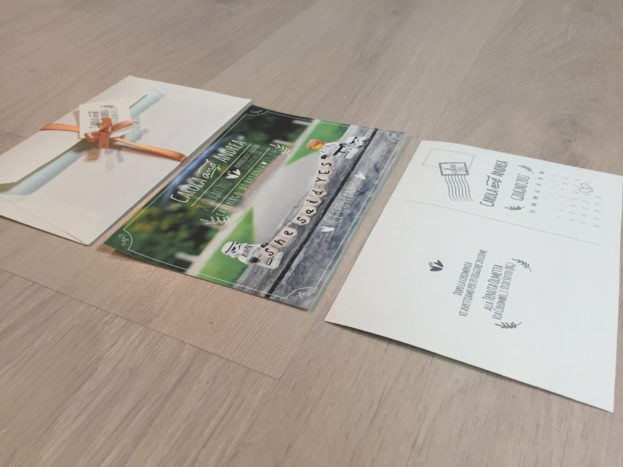 partecipazione cartolina