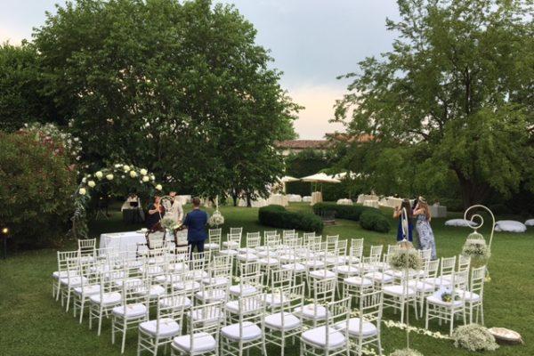 Cerimonia civile in giardino
