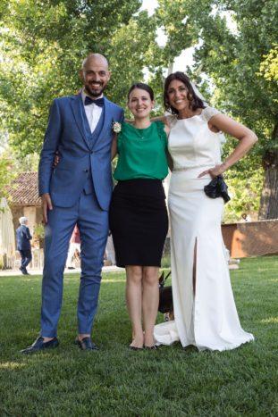 Noemi Wedding con sposi