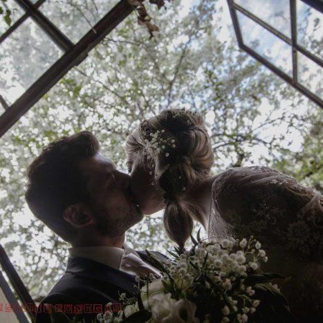 Il bacio nella veranda