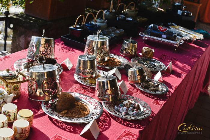 Buffet dei thè aromatici
