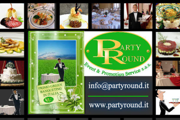 PARTY ROUND GREEN CATERING & B