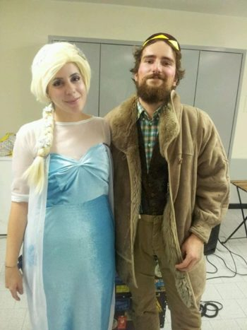 Elsa e Oaken