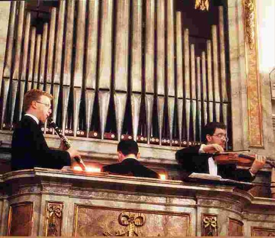Il fascino dell'organo...