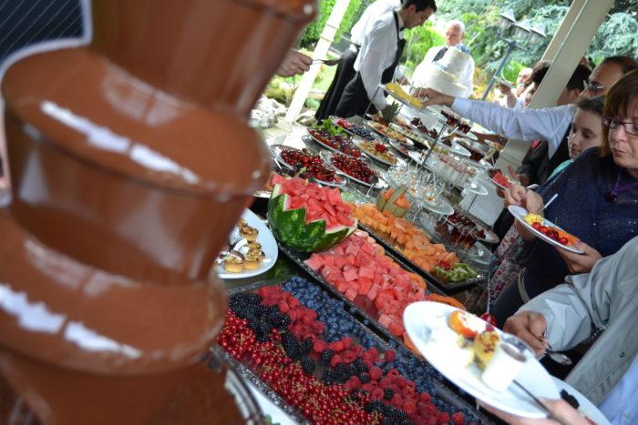 Fontana di cioccolato