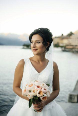 Sposa lago di Como