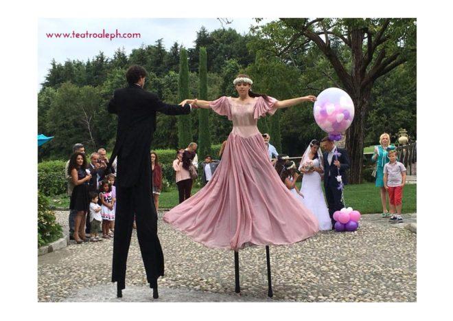 Danza all'arrivo degli Sposi