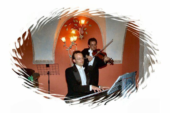 Eleganti apritivi piano violin