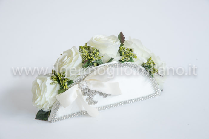 bouquet pochette poliestere