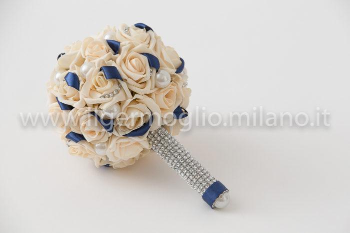 bouquet rose polifoam