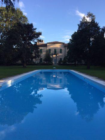 Villa Marazzi al tramonto