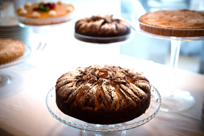 Buffet delle torte