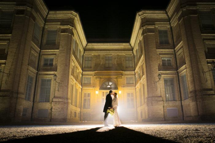 Castello notturno Inverno