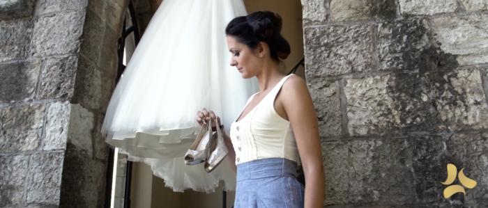 La sposa e il suo abito