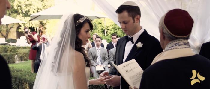 Matrimonio ebraico al Borro