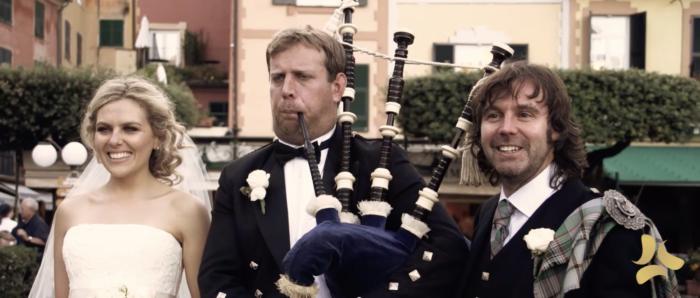 Matrimonio scozzese, Portofino
