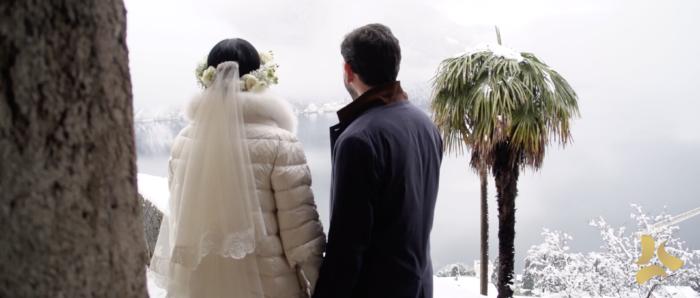 Matrimonio invernale a Lugano
