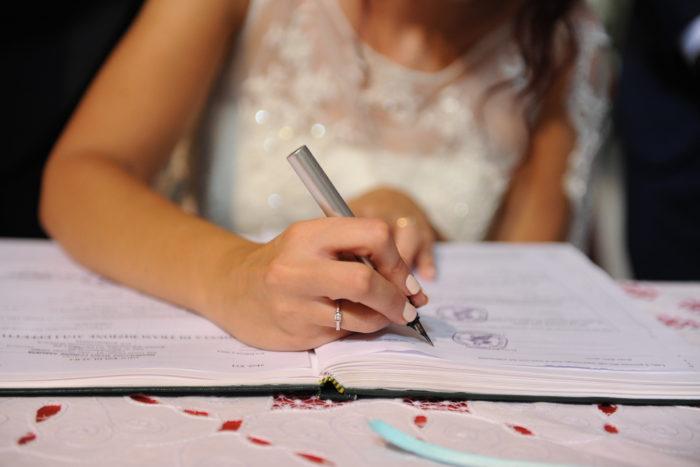 firma sposa