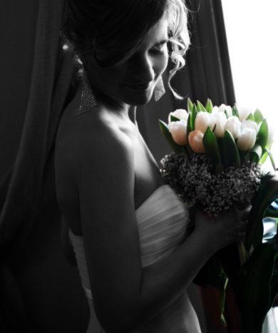 sposa bianco e nero