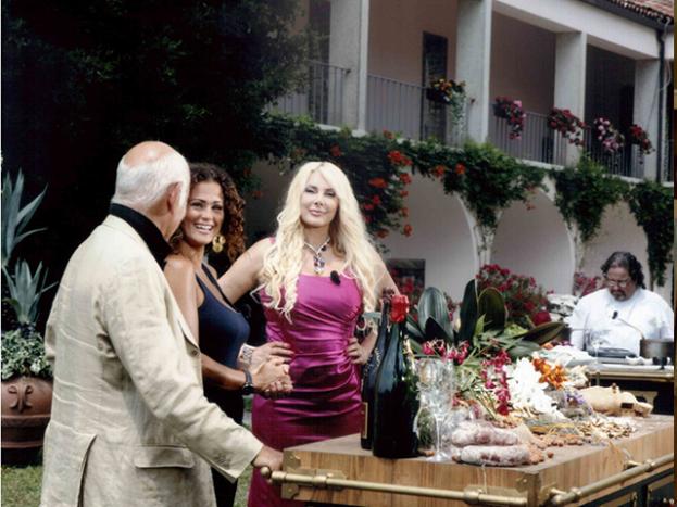 Giardino formale ospiti