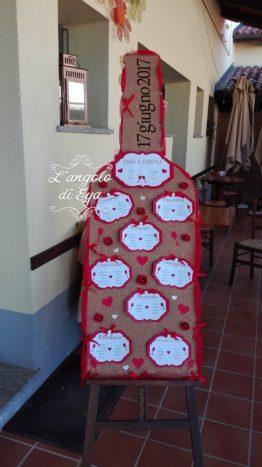 Tableau de mariage tema vino