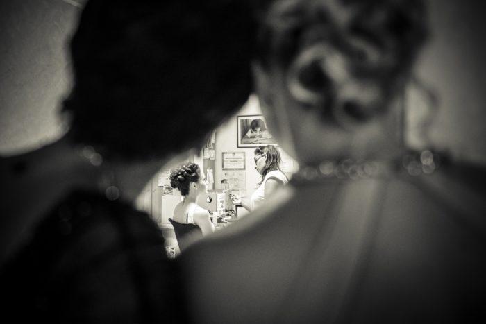 la sposa: vestizione