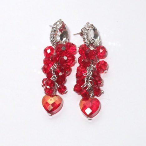 Cluster di perle e cuore