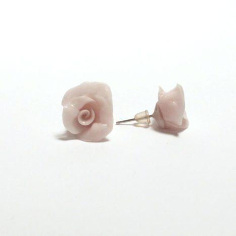 Orecchini con rose handmade