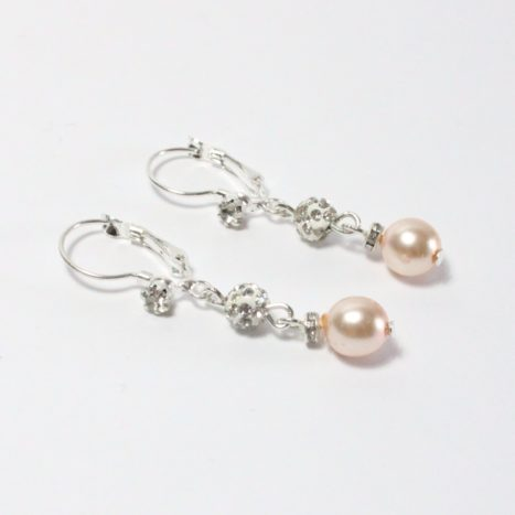 Orecchini perle e strass