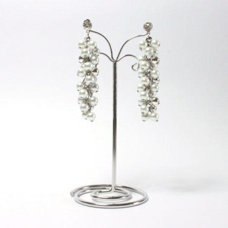 Orecchini cluster di perle