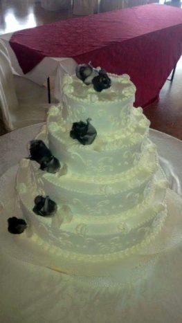 torta nuziale americana