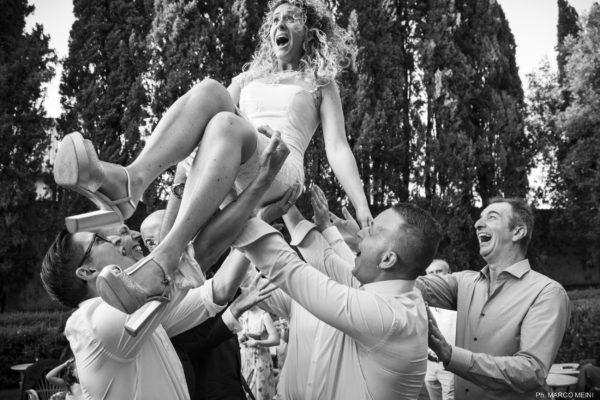 Lancio della sposa