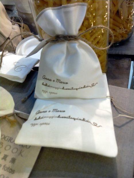 sacchettini personalizzati