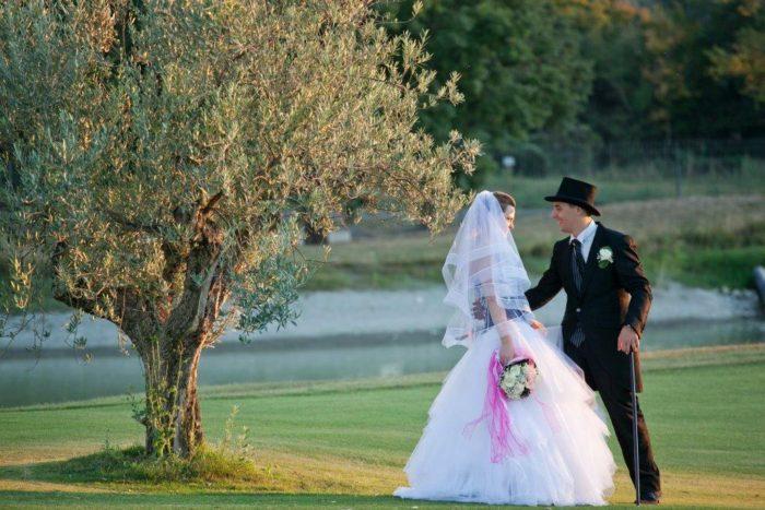 Sposi e natura
