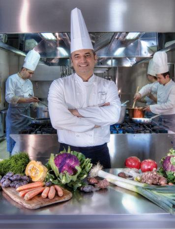 Chef Alessandro Cappotto