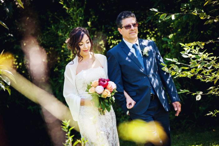 La sposa e il papà