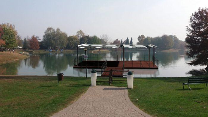Piattaforma galleggiante