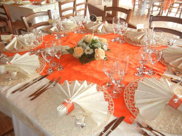 Preparazione tavolo