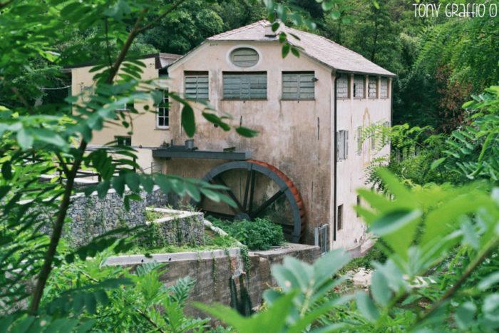Museo - vista dal torrente