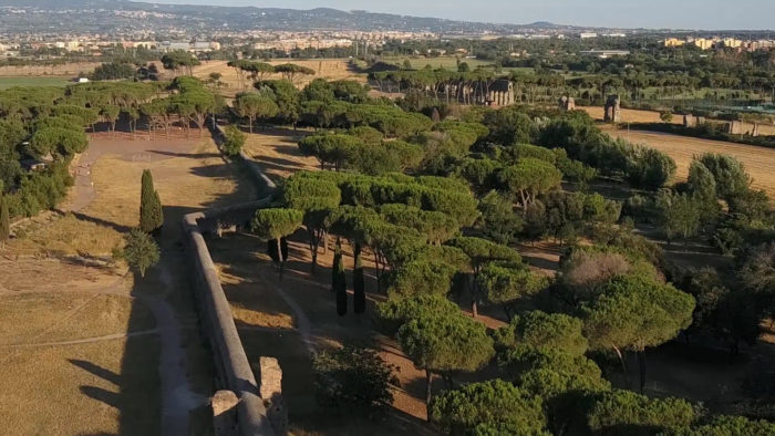 Drone Parco degli Acquedotti