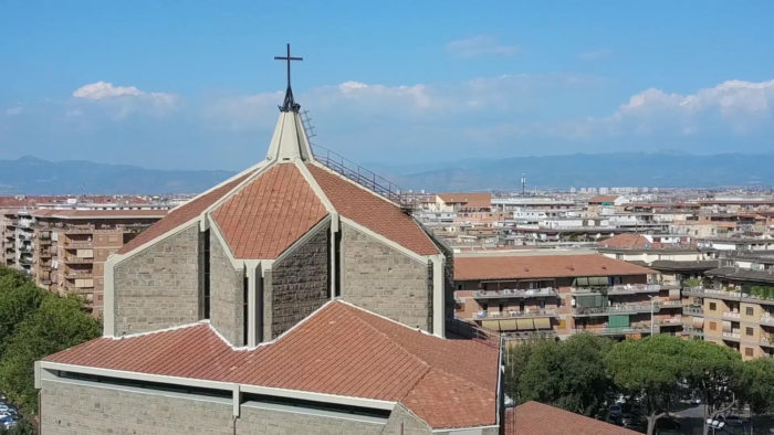 Drone Chiesa San Policarpo