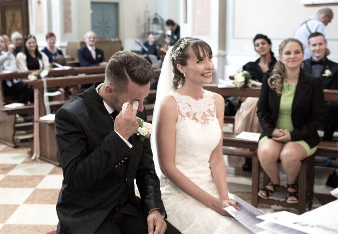 Emozioni alla cerimonia