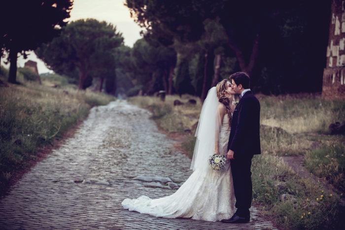 Voi due sull'Appia antica