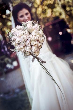 La sposa e i suoi fiori!