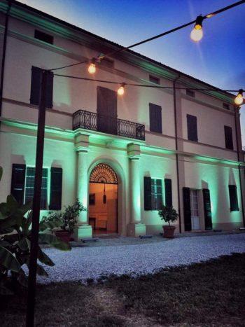 Allestimento luci villa