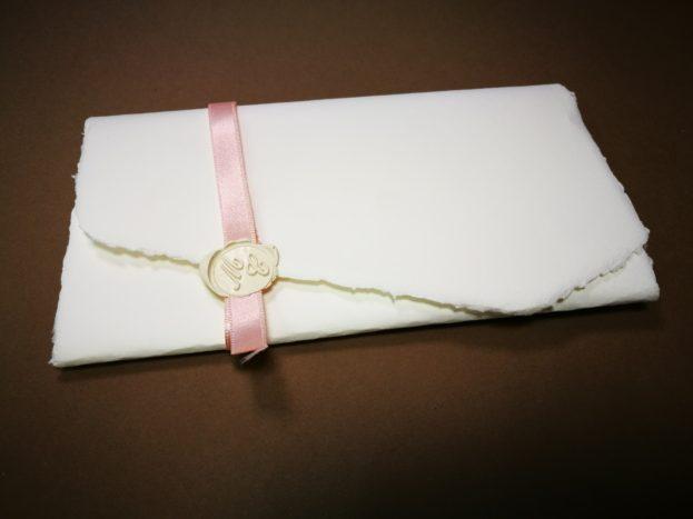 carta amalfi con ceralacca