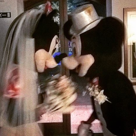 wedding mascotte