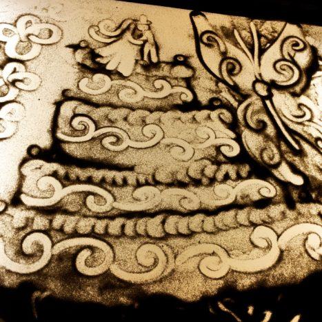 disegni con la sabbia